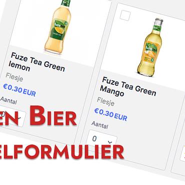 Fris en Bier Bestelformulier
