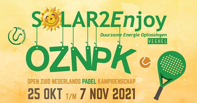 OZNPK 2021 - Open Zuid-Nederlands Padel Kampioenschap