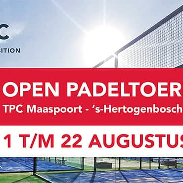 CTAC Open padeltoernooi – Enabling your ambition